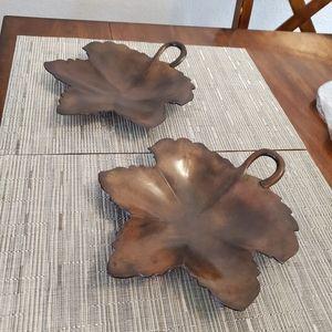 Decorative Maple Leaf Tray